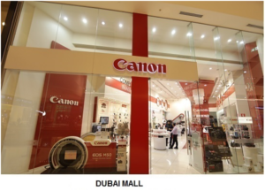 Canon Products from Dubai